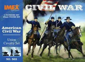 IMEX503 American Civil War Union Cavalry Set 1:72 Scale